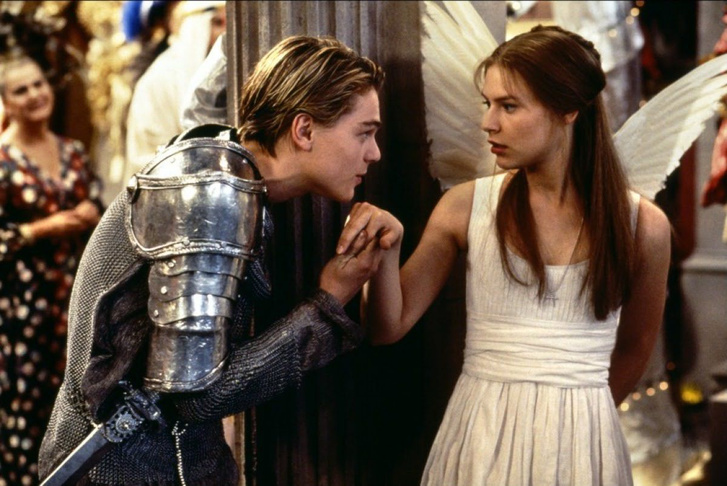 A Rómeó és Júlia 1996-os filmverziójának vonatkozó jelenete