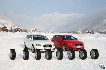 Nem csak nyolc típust, hanem összesen huszonnyolcat próbáltak ki az Alpokban
