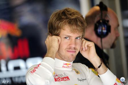 Vettel nem bírja a zajt a Hungaroringen