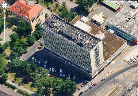A Geodézia Zrt. székháza a Google Maps-on