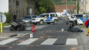 Halálos motorbaleset történt Piliscsabánál