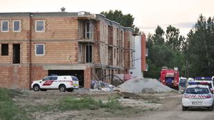 Tűz ütött ki egy vecsési társasházban, egy ember meghalt