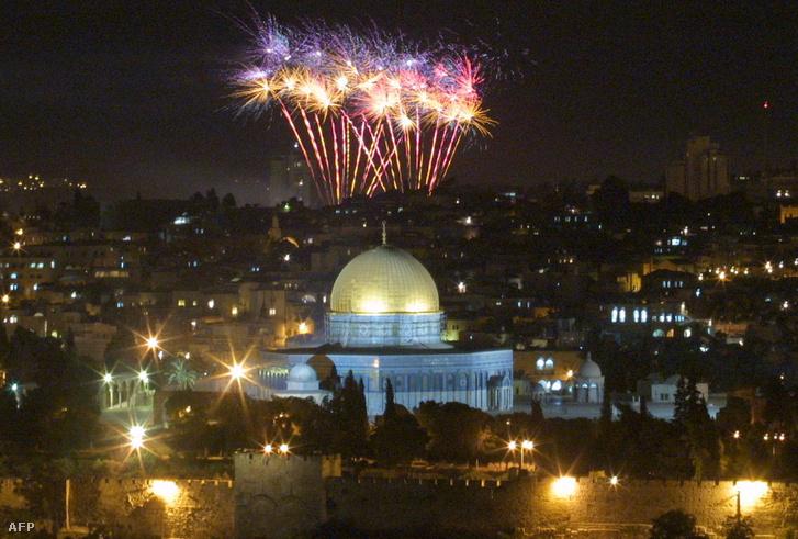 A Makkabi játékok 2001-es megnyitója Izraelben