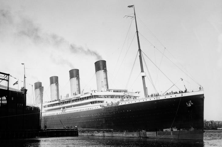 Az RMS Olympic 1911-ben