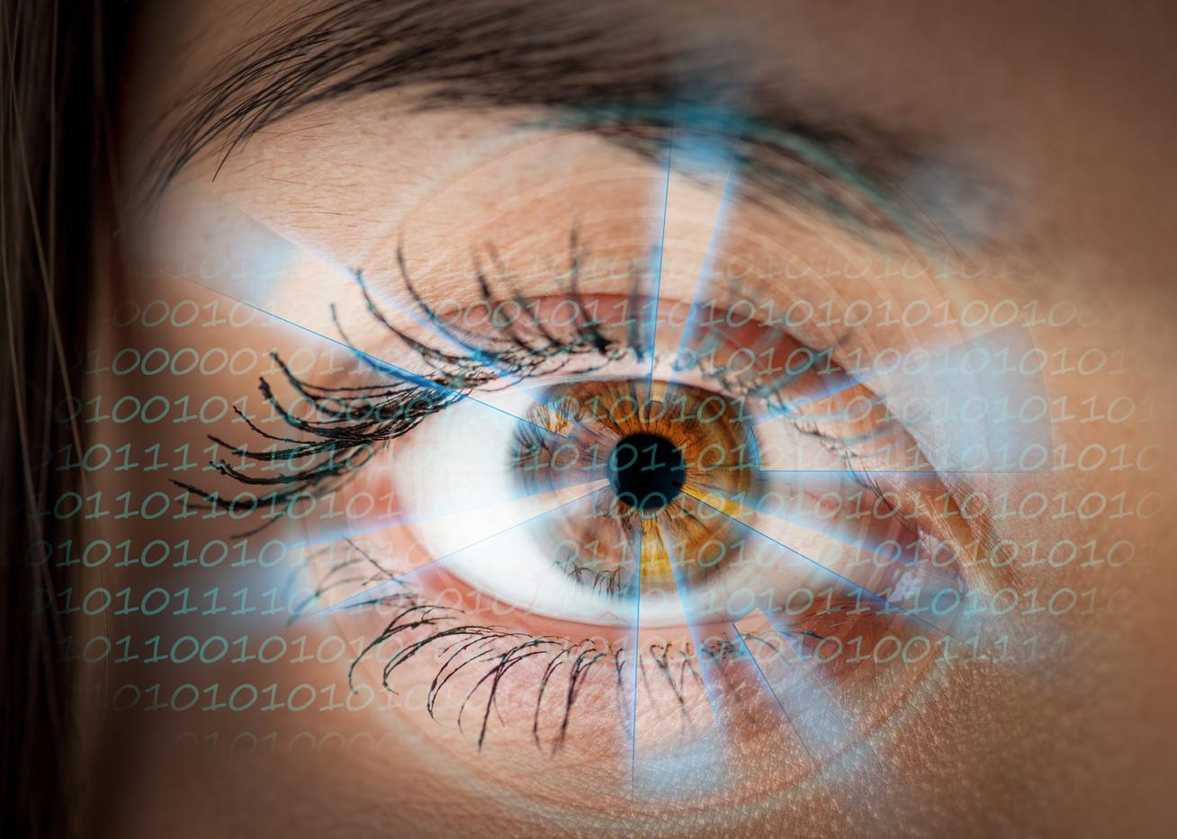 szem nélküli ember látása)