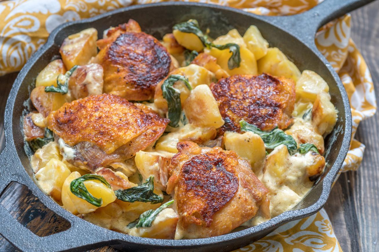tejszines-csirke-krumplival