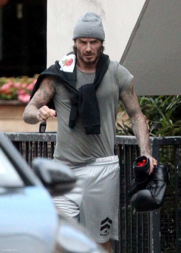 Na de egyelőre térjünk vissza ahhoz a David Beckhamehez, aki láthatóan nem ismer lehetetlent