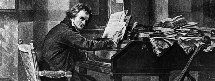 A klasszikus Beethoven-kép: a zseni káoszban és nyomorban dolgozik