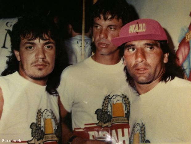 Carlos Kaiser (balra), Gaucho és Renato Gaucho a brazil foci legnagyobb partiarcai voltak a 80'-as, 90'-es években