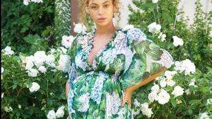 Úgy fest, Beyoncé bármelyik pillanatban szülhet