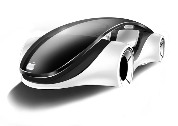 Egy korábbi vázlat egy lehetséges Apple-autóról