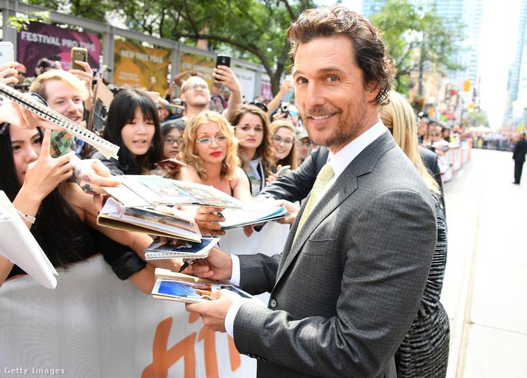 Matthew McConaughey szent meggyőződéssel állítja, hogy a hollywoodi villájában volt egy szellem, ráadásul egy öreg néni szellem.