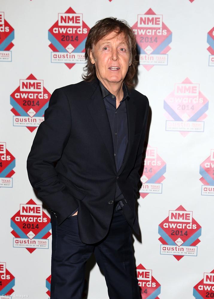 Paul McCartneynak se mindennapi jelenségben volt része.