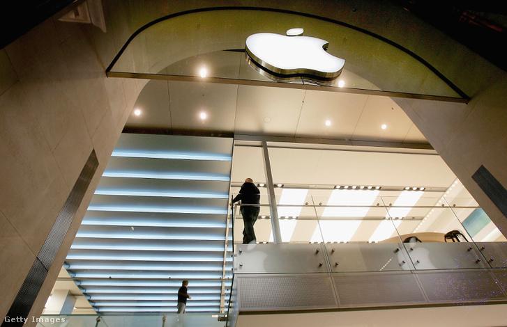 Az Apple első európai boltjának megnyitása Londonban, 2004-ben.