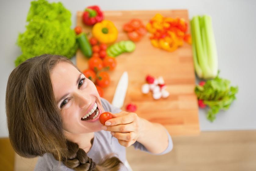 zöldségfogyasztás