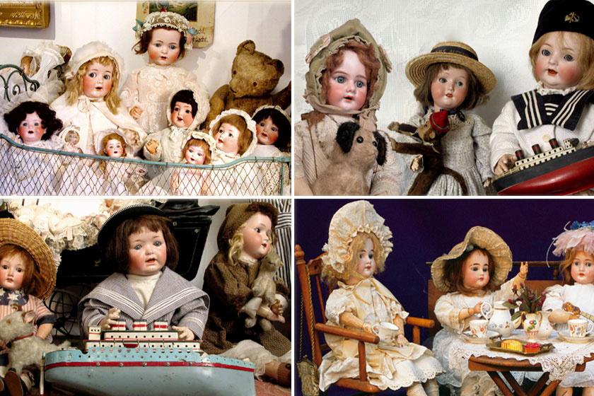 Tihanyban a babamúzeum gazdag babagyűjteménnyel várja látogatóit. Az apró babacsészéktől a valódit idéző kis bababútorokon át a kishajókig és mackókig minden elemet imádni fog a gyerek.