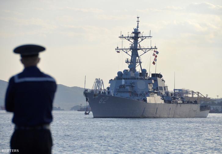 A USS Fitzgerald 2011-ben a vlagyivosztoki kikötőben.