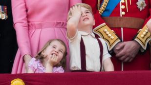 György herceg facepalmja idén is feldobta a királynő születésnapját