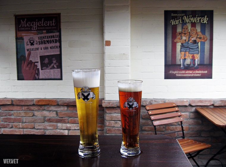 Zárásként Békésszentandráson térjünk be a sörfőzdébe.