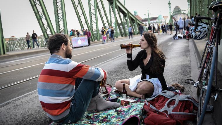 Szabad hétvége a Szabadság hídon