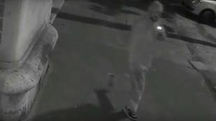 Biztonsági kamerát lopott egy férfi Újbudán