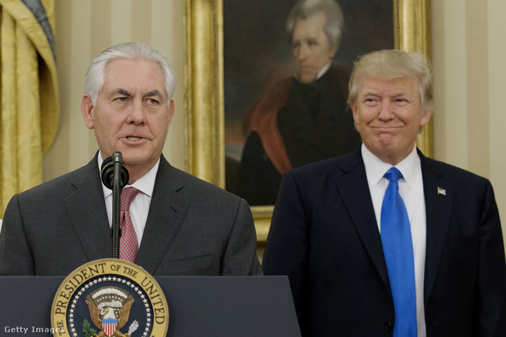 Rex Tillerson és Donald Trump