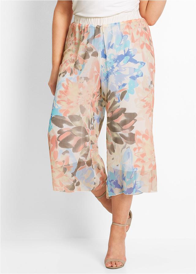 A culotte nadrág a nyár legnagyobb trendje, ez a Bon Prix-darab pedig vidám színeivel feldobja a külsődet és vékonyabbnak mutatja a derekadat. 6999 forintért lehet a tiéd a webáruházból.