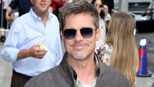 Brad Pitt a gyerekeivel közösen töltötte az apák napját