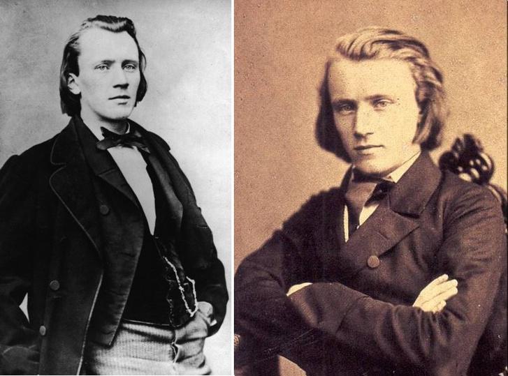 A fiatal Brahms