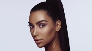 Már az is baj, ha Kim Kardashian túl fekete