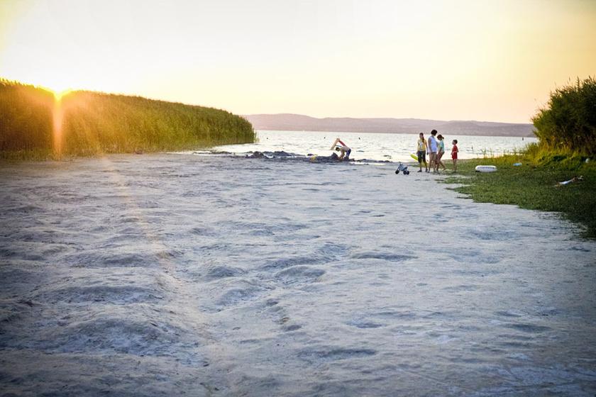 Szántód szinte egyetlen, hatalmas szabadstrand, melynek minden vízparti utcáján találhatóak lejárók a homokos partra és a vízbe. A legismertebb szabadstrand a Beach Party és a Rigó utcai.