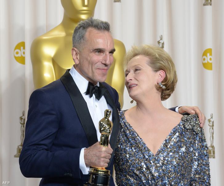 Meryl Streeppel a 2013-as Oscar-díjátadó gálán