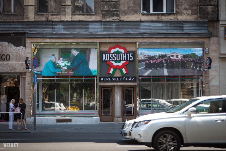 Egy Facebook-poszt miatt tudtuk meg, hogy a Kossuth Lajos utca Astoriához közeli részén készül valami új, amit Kossuth 15 kereskedőháznak hívnak.