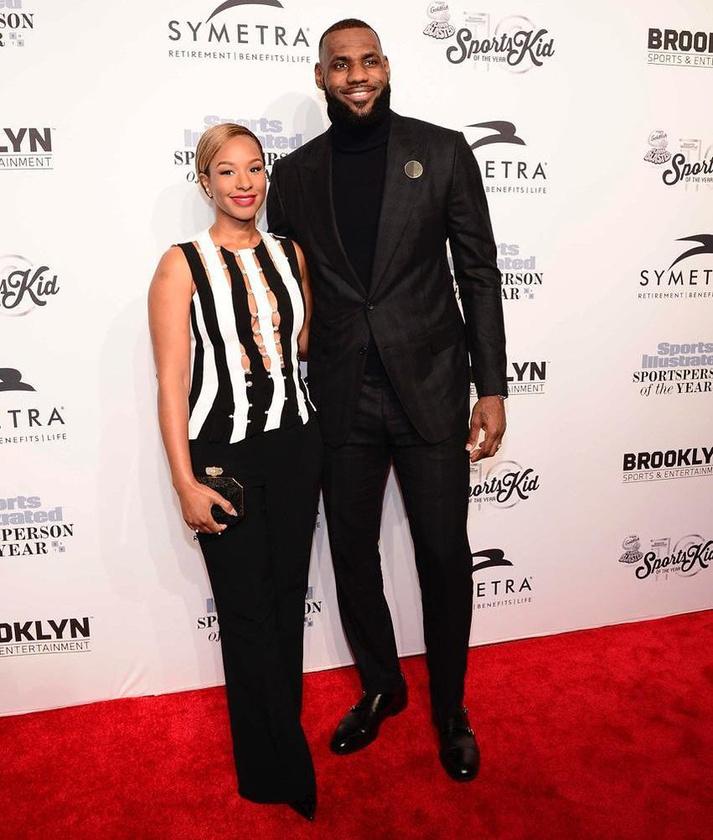 De a világ főleg arról ismeri, hogy LeBron James, a Cleveland Cavaliers sztárjátékosának a felesége