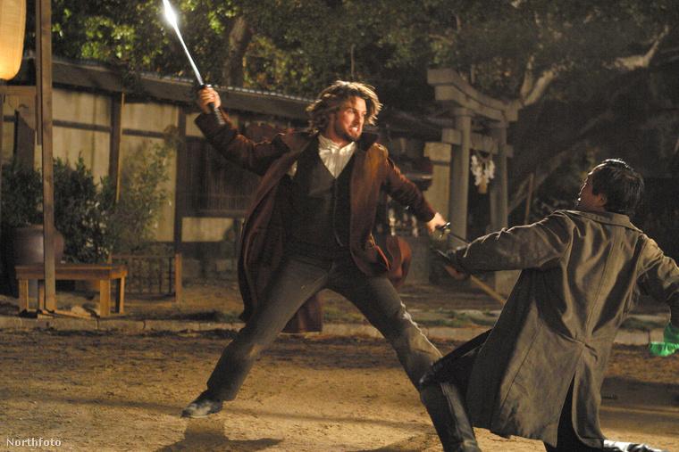Az utolsó szamuráj című filmben Cruise majdnem elveszítette a fejét