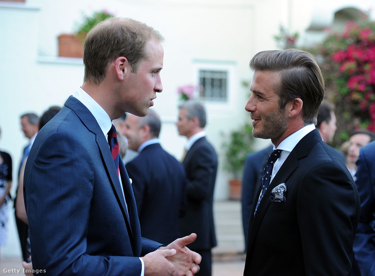 David és az akkor négyhónapos terhes Victoria Beckham a herceg esküvőjére is hivatalos volt 2011-ben, úgyhogy a köztük lévő jó viszony feltételezhető