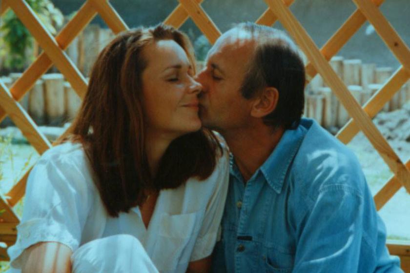 Reviczky Gábor több mint 20 évvel ezelőtt Krisztina mellett találta meg a boldogságot.