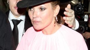 Még mindig nagyon kellemetlen látvány, ha Kate Moss túltolja a bulizást