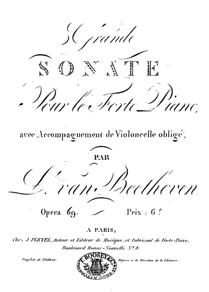 Hogy mi az az opusz 69? Beethovennél például egy 1808-ban íródott csellószonáta.