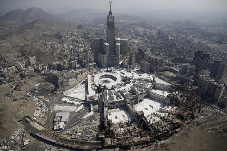 A mekkai óratorony és a nagymecset