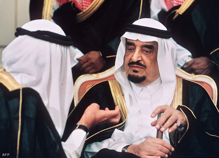 Fahd király