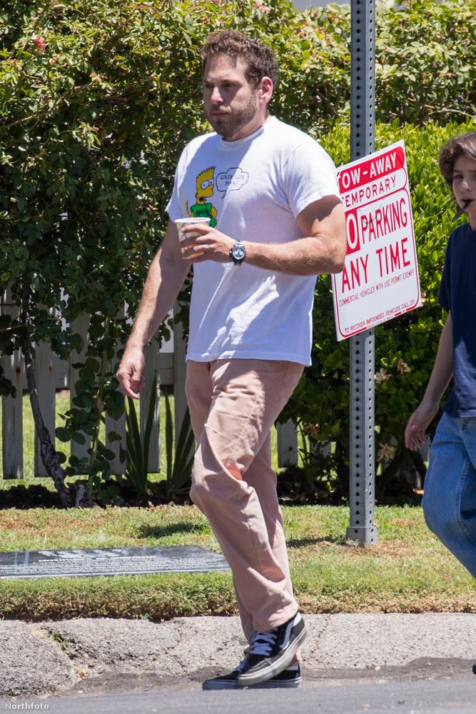 Az amerikai színész-komikus Jonah Hill drasztikus átalakulásai talán véget értek