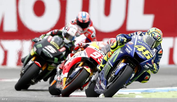 Index - Sport - Valentino Rossit senki és semmi nem állíthatta meg 6a609fb4d0