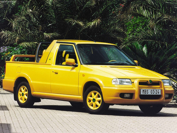 Nagyon rálelkesedett akkoriban a gyár a pickup koncepcióra, el is készítették a Fun verziót, amelyből máig előbukkan egy-egy a használtpiacin, persze emelt áron
