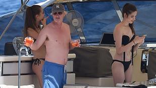 Eddie Irvine már megint csajokkal nyomul Olaszországban