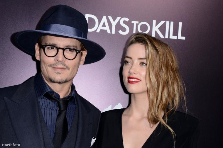 Amikor még együtt voltak: Depp és Amber Heard.