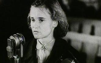 Tóth Ilona a tárgyaláson.