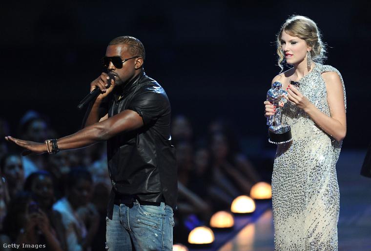Még a 2009-es MTV Video Music Awardson történt, hogy a rapper nem hagyta, hogy a legjobb videoklip kategóriában nyertes Taylor Swift befejezze köszönőbeszédét