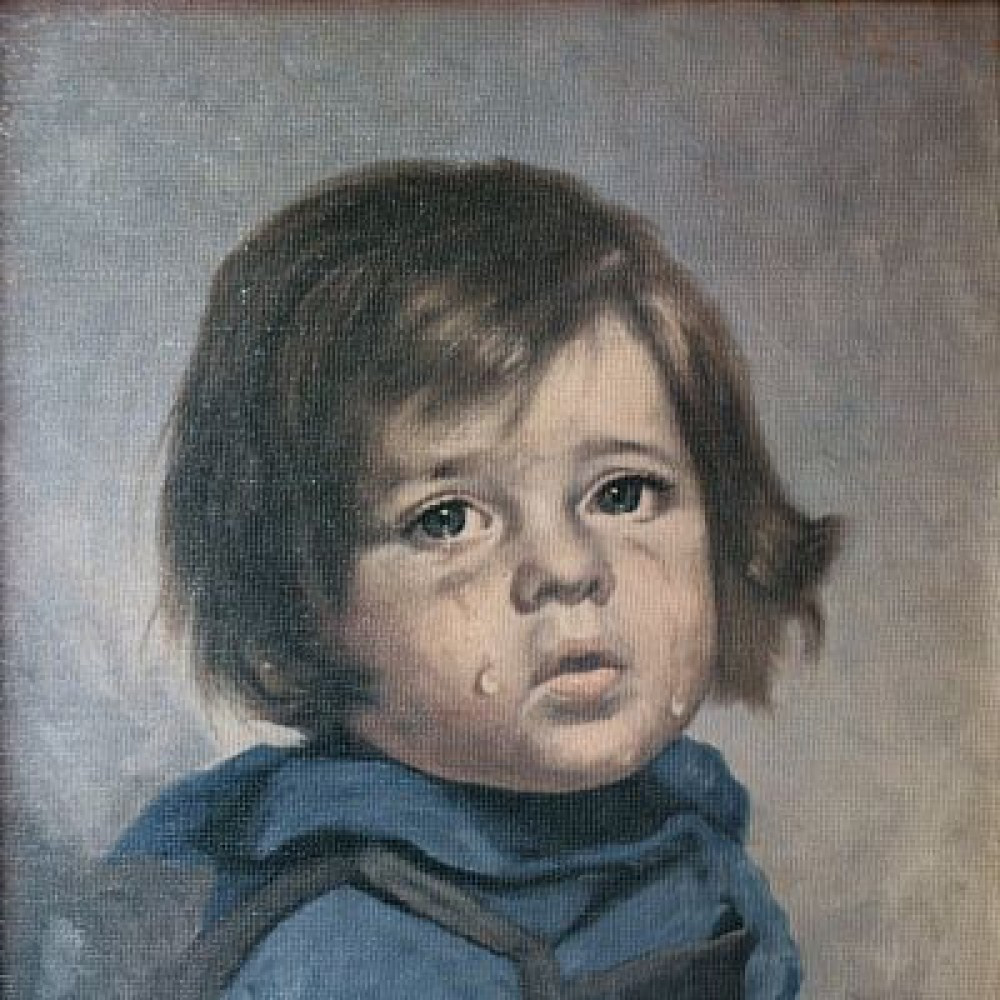 A Síró fiú festmények kapcsán 1985-ben, a The Sun hasábjain jelent meg az első különös hír.