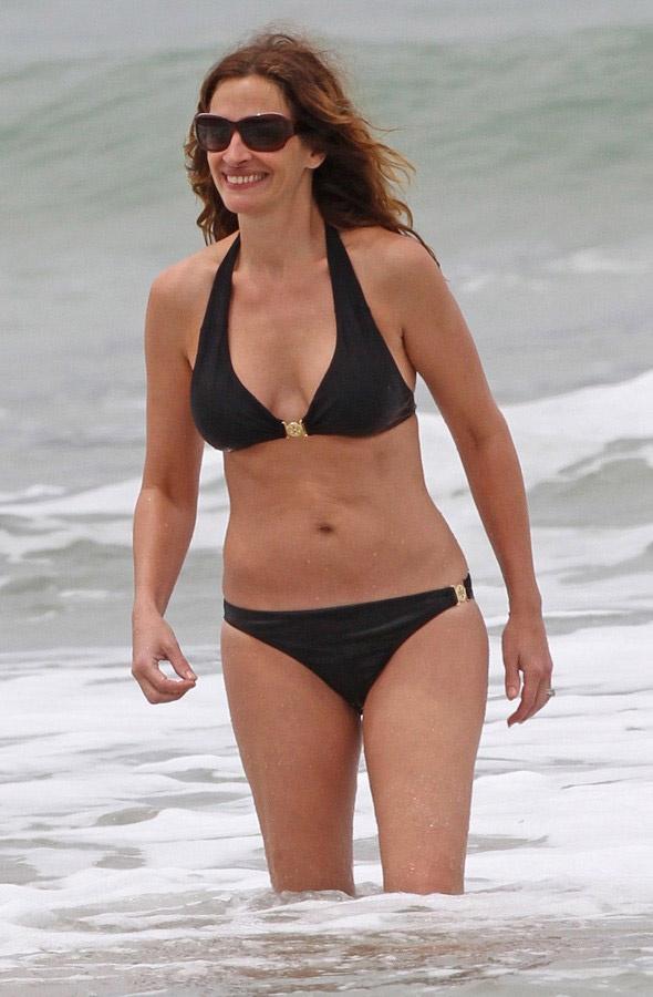 Csak egy megfelelő kifejezés van Julia Robertsre: micsoda nő!
